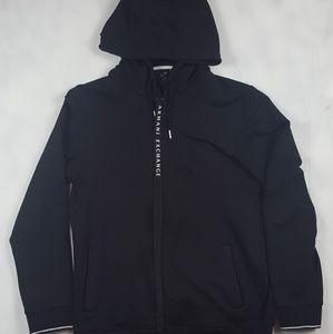Armani Exchange Men's Black Hoodie
